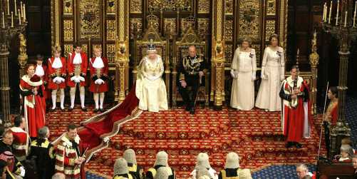 queen elizabeth ii prince philip house of lords queen's speech
