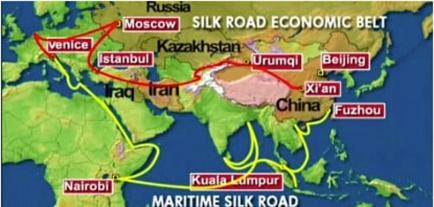China's silk road