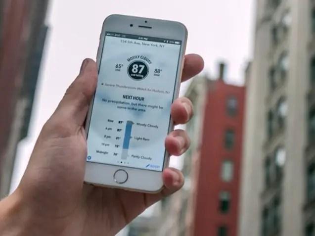 dark sky iphone app