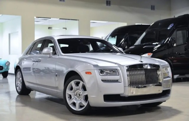 13. The only Rolls-Royce that Fusion has listed is a silver 2014 Ghost model.