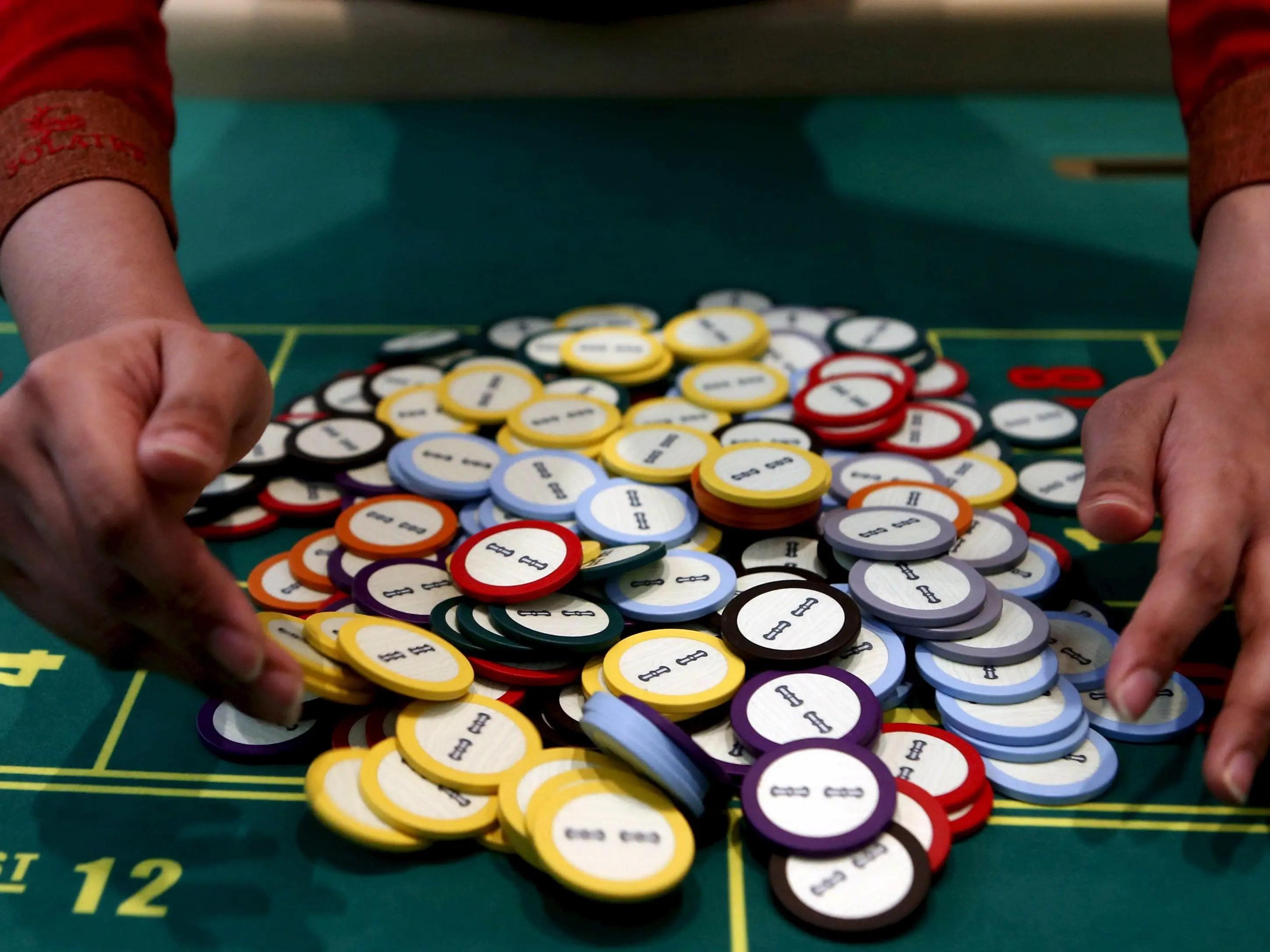 chips gambling betting casino