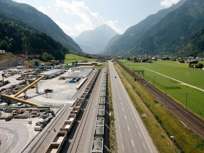 Most of this area — inhabited by approximately 111 million people — is relatively flat, except for Switzerland's notorious Alps. The Gotthard Pass has proven itself a vital link between Switzerland and northern Italy for hundreds of years.
