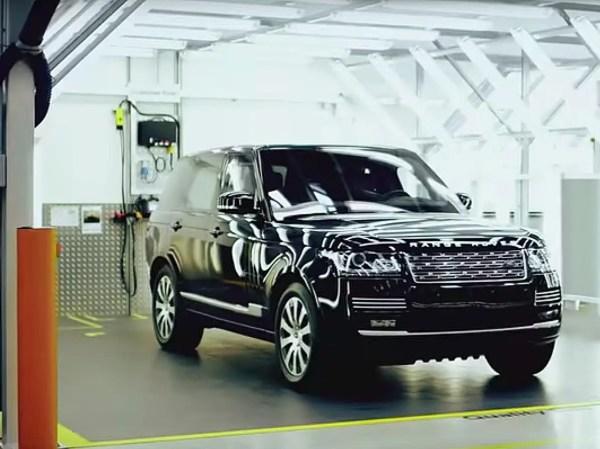 Range Rover Sentinel armored SUV Business Insider