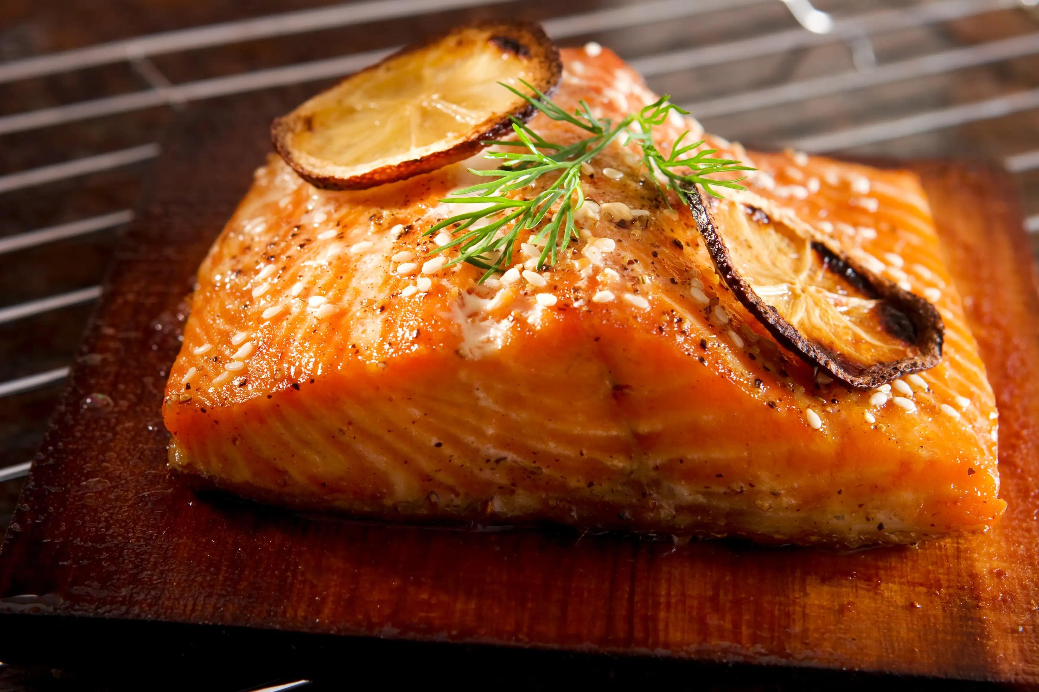 Instead of steak or ribs: Fatty fish