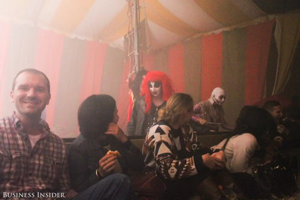 What the Haunted Hayride is like Business Insider