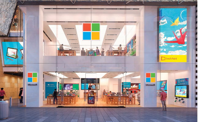 Microsoft Confirms Plans To Open First Uk Store In London