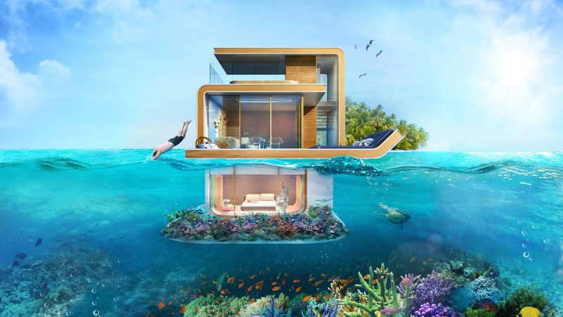 The $2.8 million Floating Seahorse is the product of more than 5,000 hours of research and 13,000 hours of design and engineering, according to design firm Kleindienst Group.