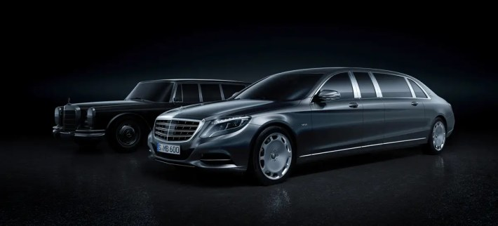 3. The Mercedes-Maybach S-Class Pullman, as you can probably tell by its outer appearance, has plenty of leg room on the inside.