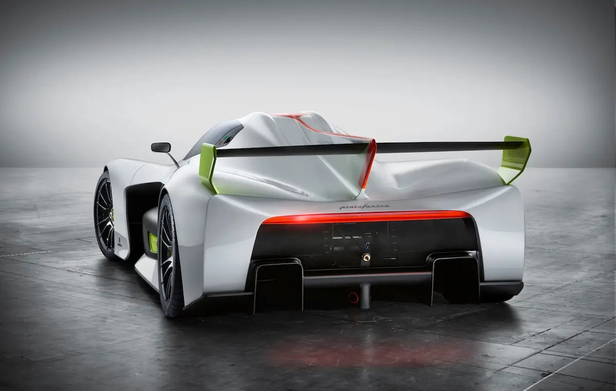 It has a top speed of 186 miles per hour and can go from zero to 62 miles per hour in 3.4 seconds.