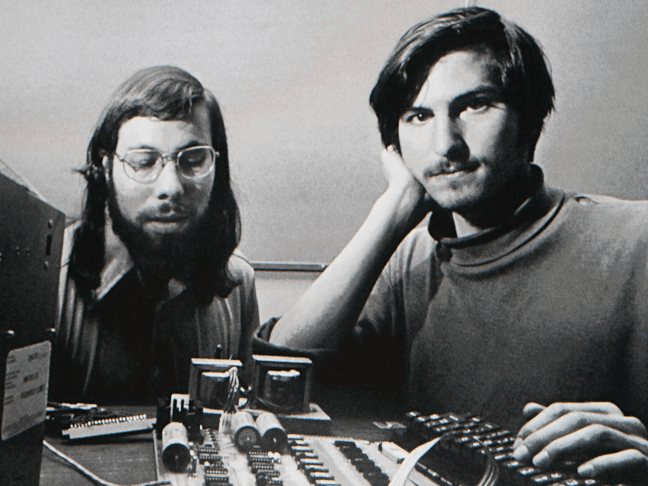 Steve Jobs took his company public and became a millionaire