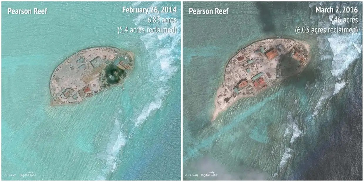 Pearson Reef: 2014 - 2016