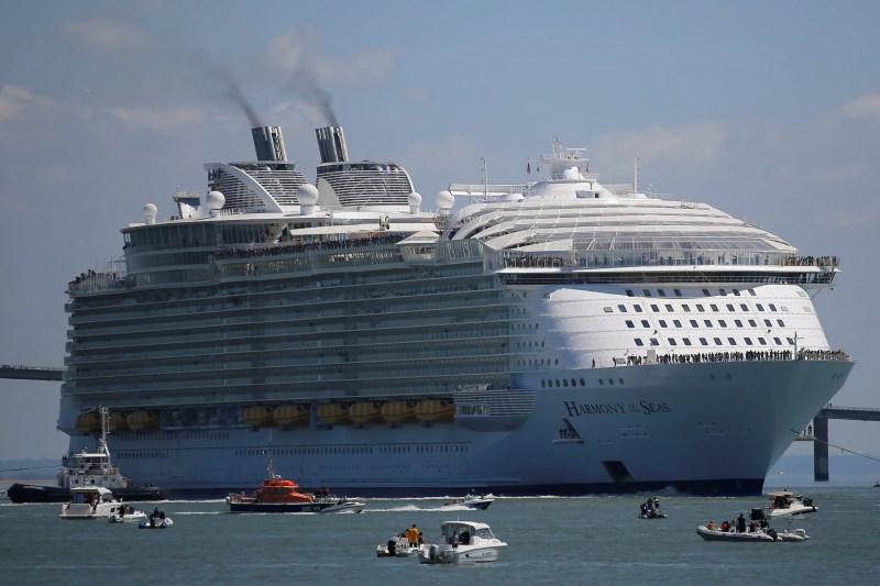 Image result for world largest cruise harmony