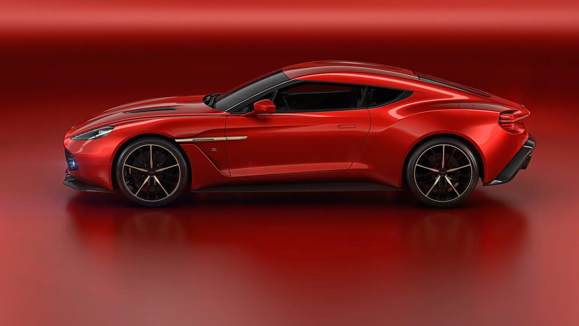 11. Aston Martin showed off a beautiful concept car in May called the Vanquish Zagato Concept.