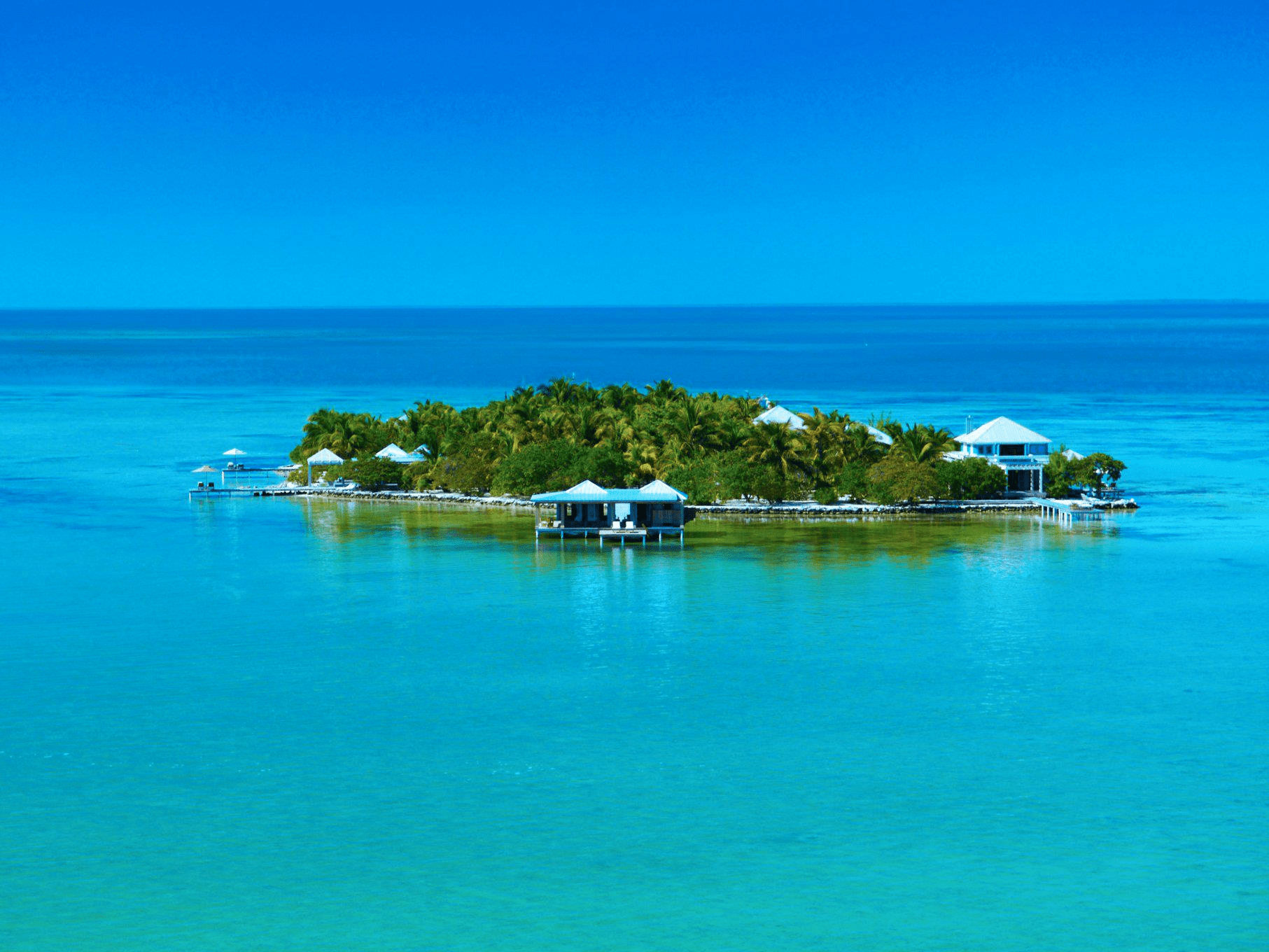 Despite its proximity to both Miami and Houston, the private island of Cayo Espanto in Belize remains a hidden gem. Accommodations here include a few beach villas and an overwater bungalow. Local ingredients are used to prepare personalized meals, which are based off of a survey guests fill out before arriving.