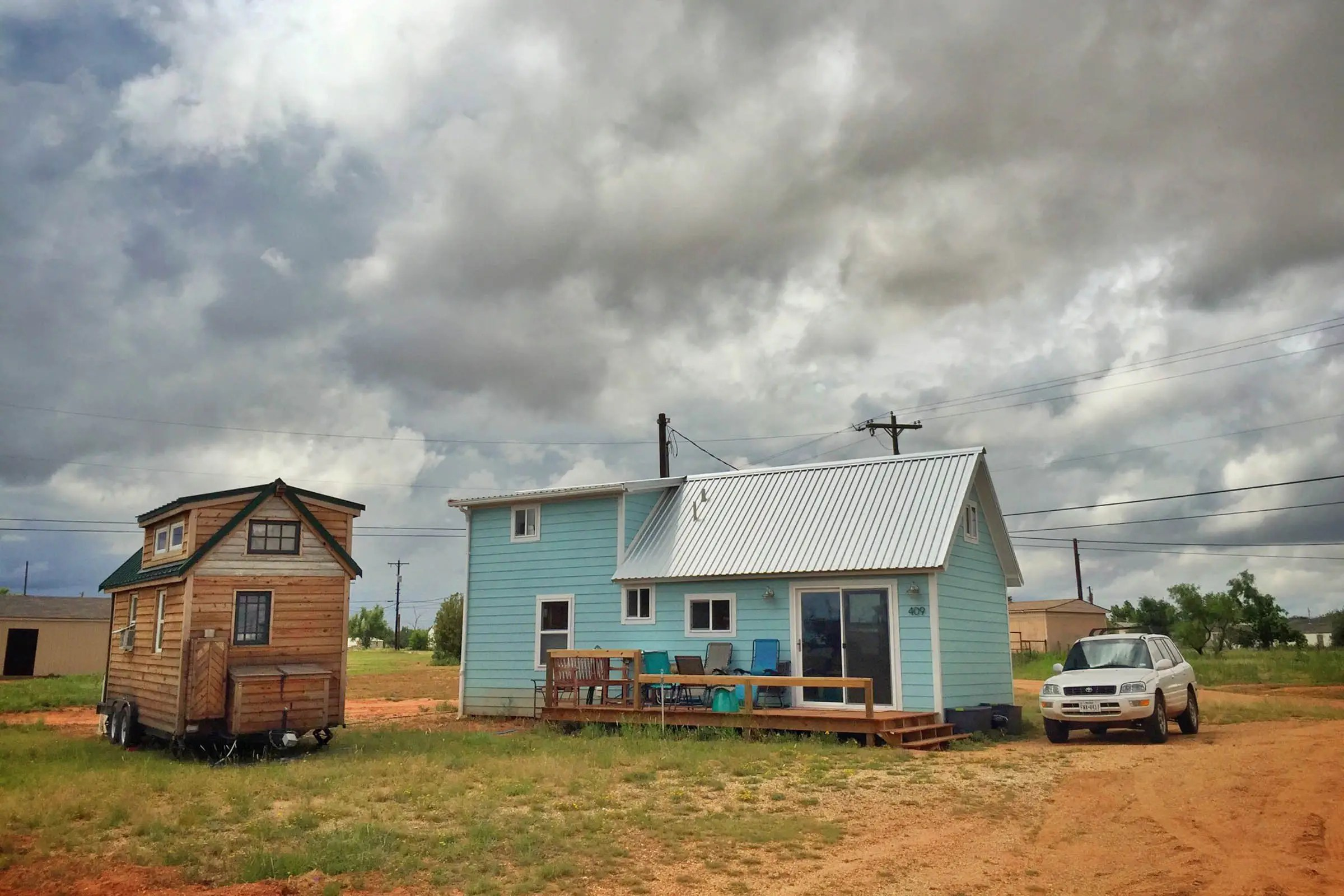 In Spur, Texas, they found a community of tiny homeowners who want to make their small town the tiny house capital of the US. There will be 20 homes by the end of the year.