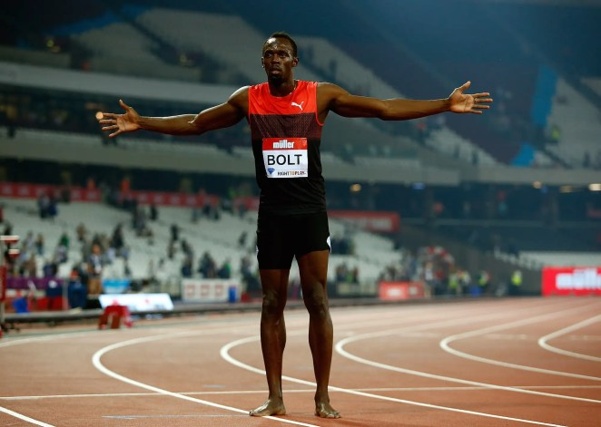 Prize money in athletics events is relatively low. Bolt earns $10,000 for every race he wins in the Diamond League, but he is often paid appearance fees of up to $400,000 per meet.