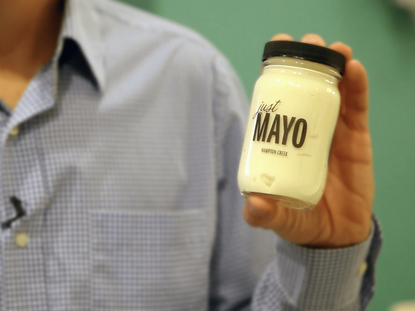 August: Hampton Creek hires people to buy jars of its eggless mayo from stores.