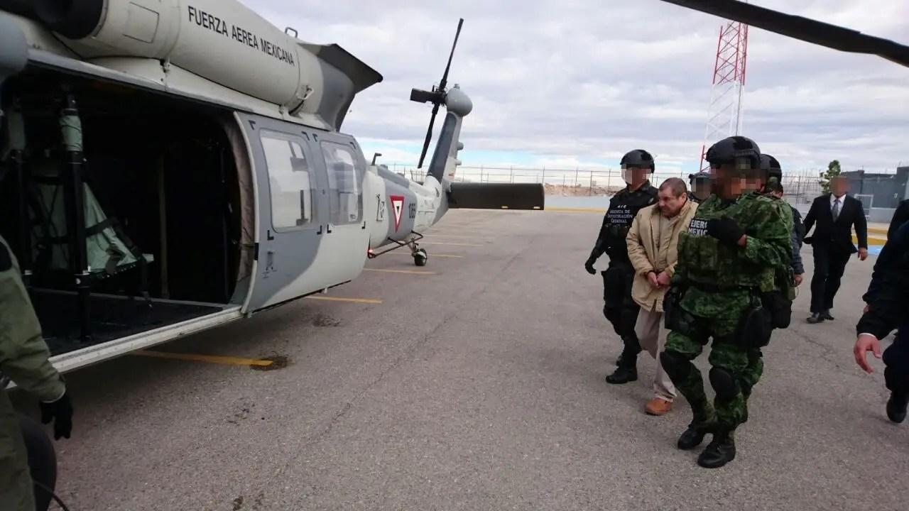 Joaquin El Chapo Guzman Mexico extradition jail Sinaloa cartel