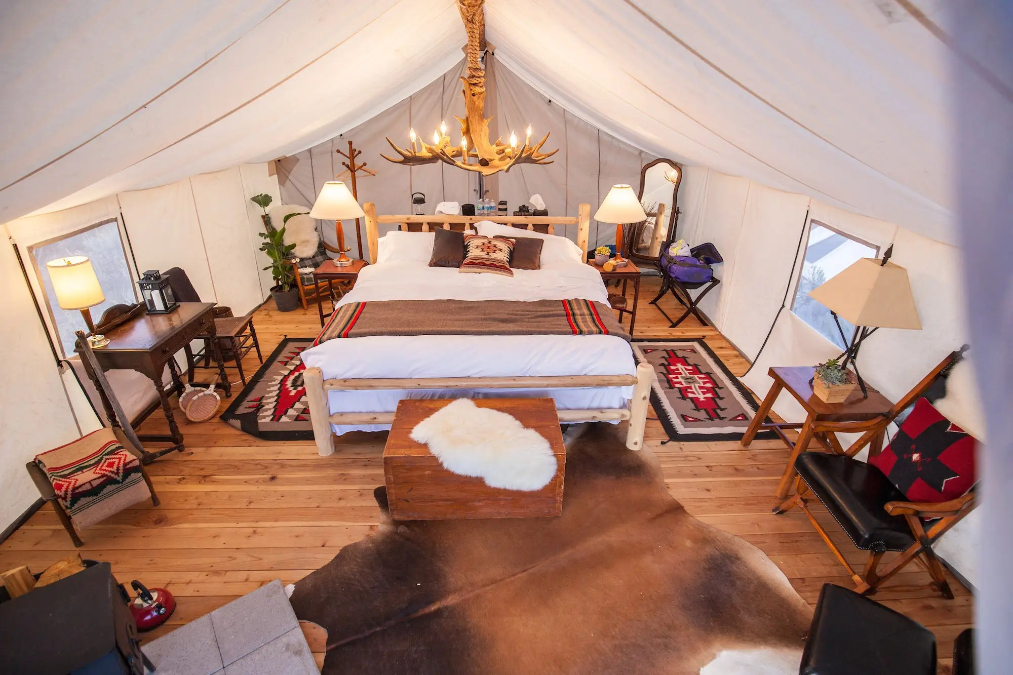 The average nightly rate is $144, which is three times more than the industry average. But it's a steal compared to upscale glamping startup Collective Retreats, which charges between $500 and $700 a night.