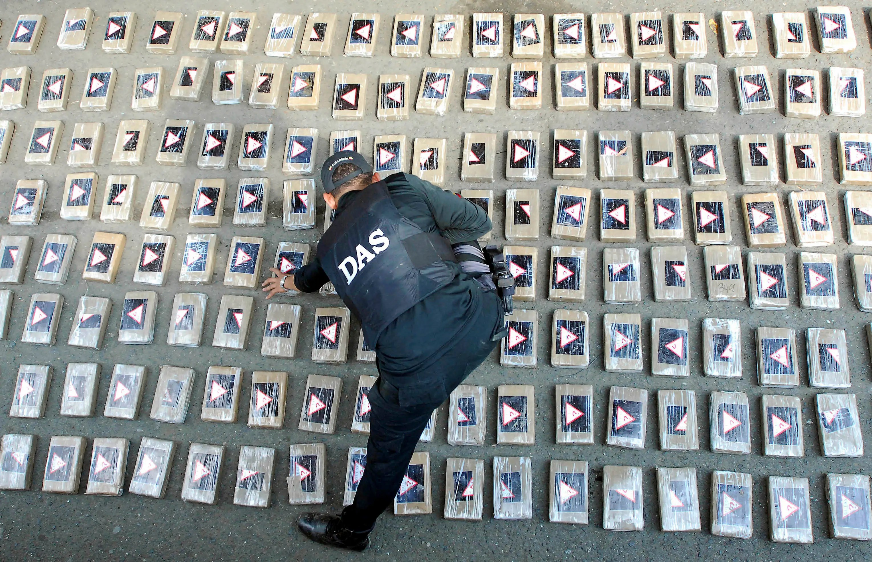 Colombia cocaine shipment seizure