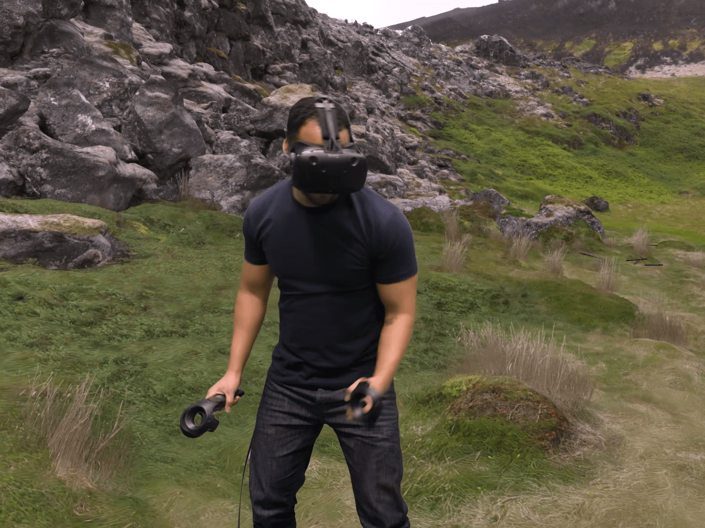 If you want to play virtual reality games without an expensive PC.