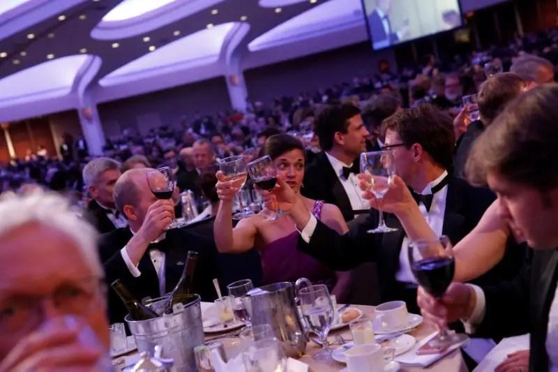 Image result for Images of White House Press Dinner on April 29, 2017