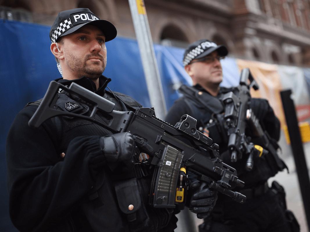 armed police uk