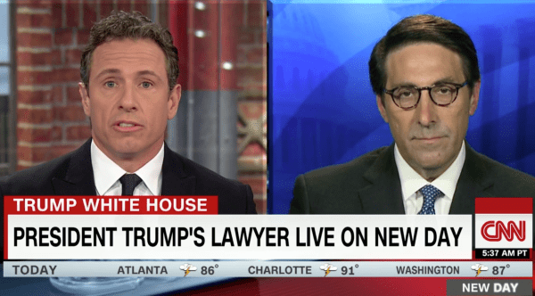 Trump lawyer insists that the president isn't under ...