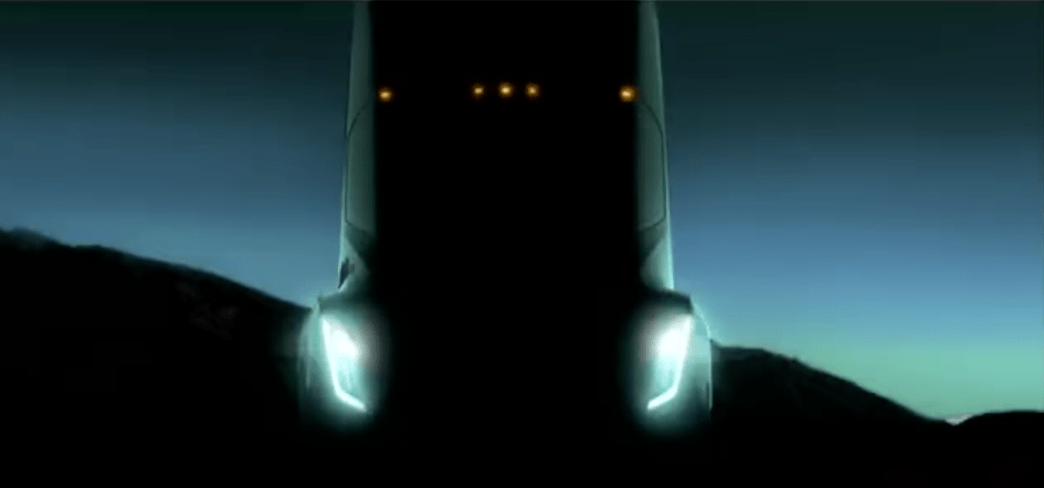 "Meanwhile, Tesla will unveil its own electric semi in September. CEO Elon Musk hasn't provided specs for the vehicle, but has said it can drive ""like a sports car."""