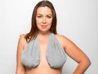 Ta-Ta Towel: New towel for breasts stops underboob sweat ...