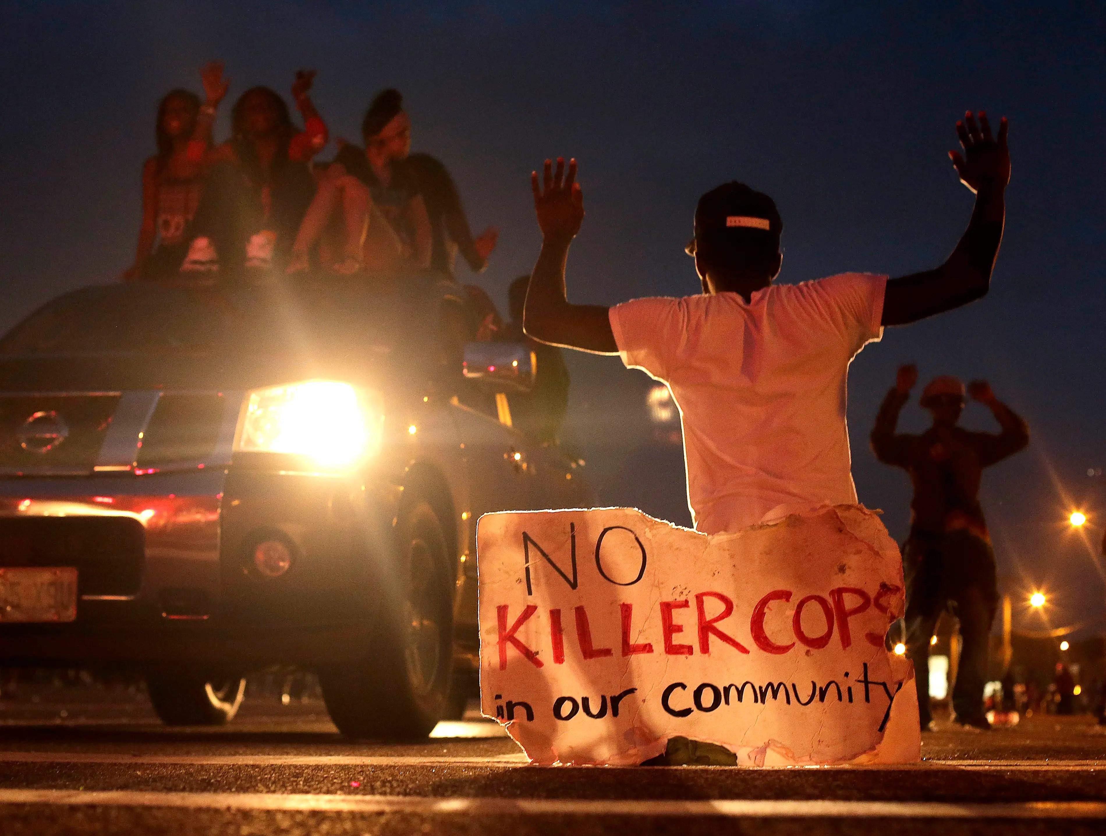 ferguson michael brown police shootings protests