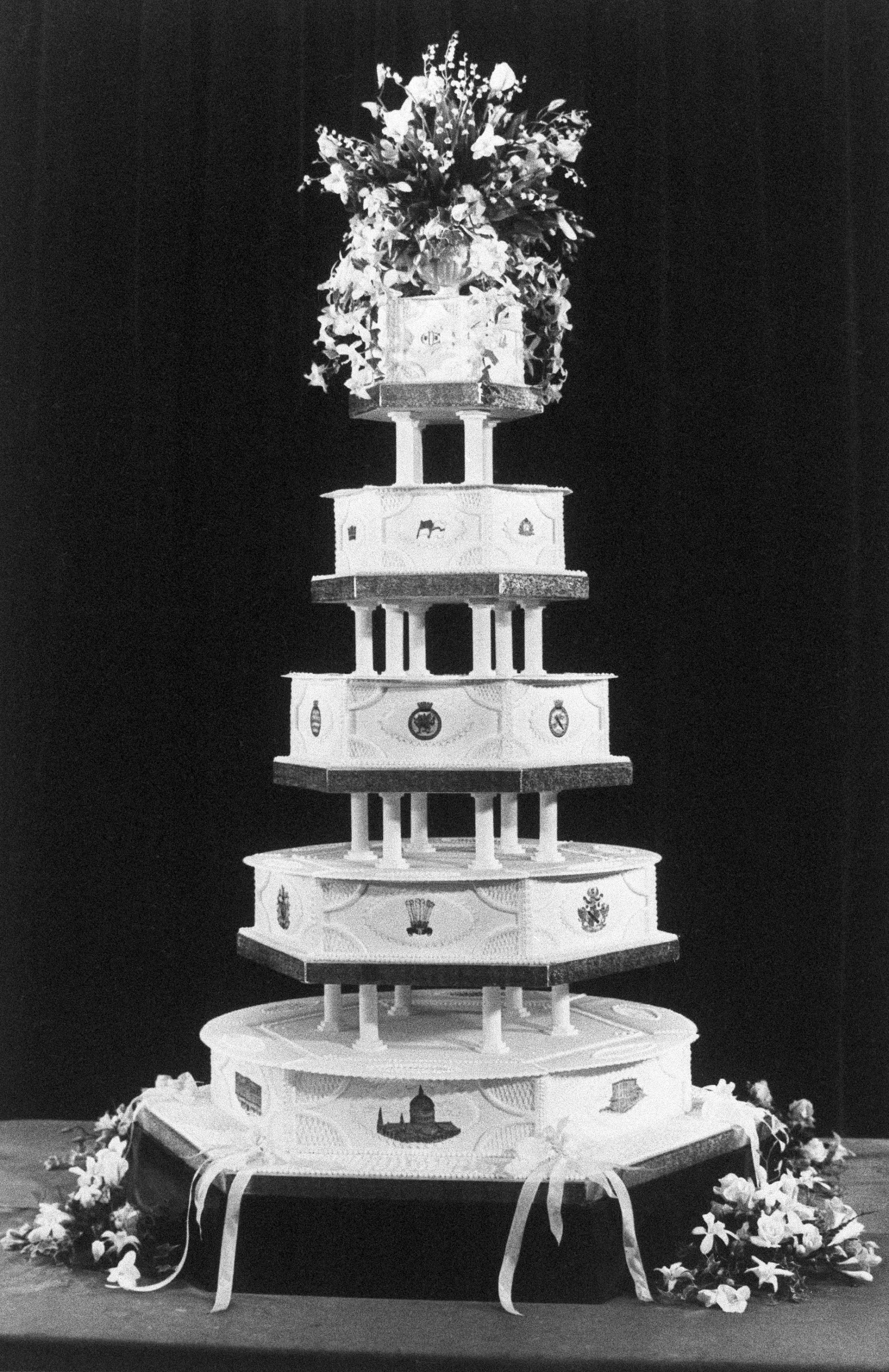 Royals definitely don't skimp on any aspect of their weddings — including the cakes.
