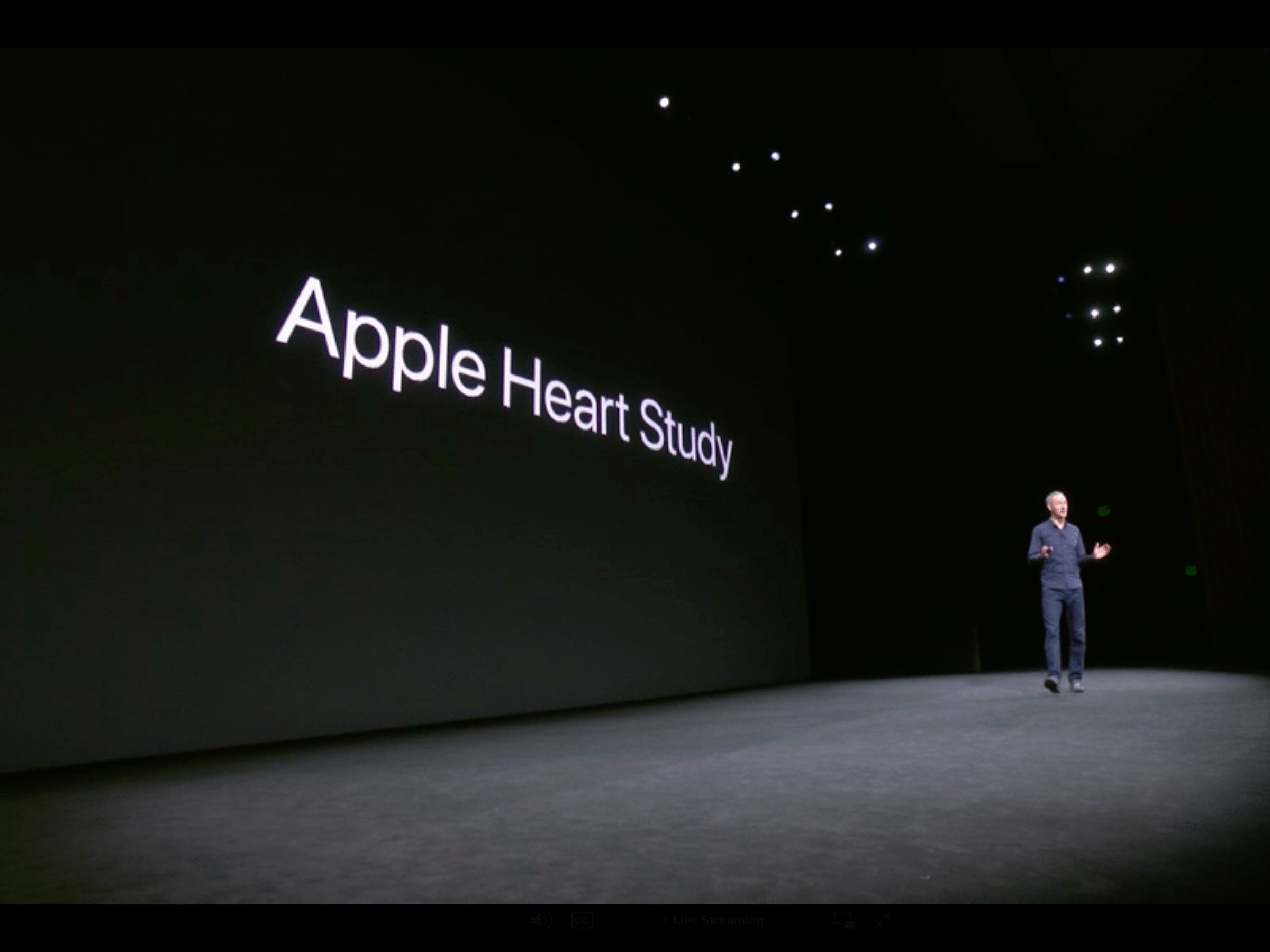 Apple is launching its own heart rate study for Apple Watch users.