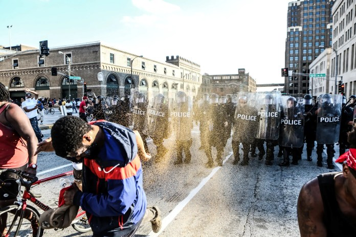 st. louis police shooting protest