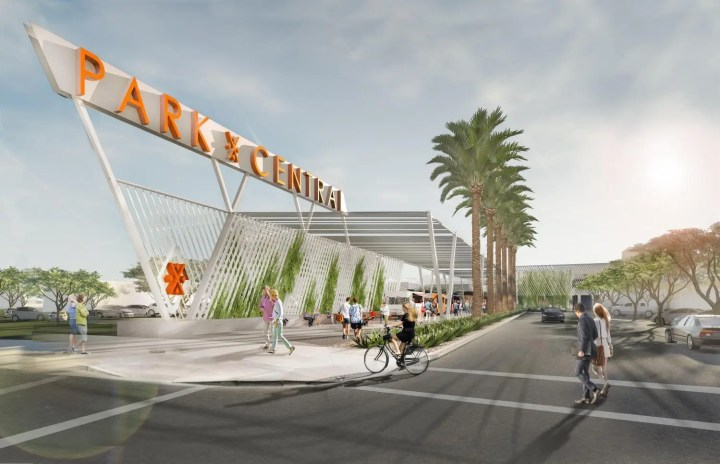 Phoenix, Arizona — A proposal to move inside a renovated version of the city's first shopping mall