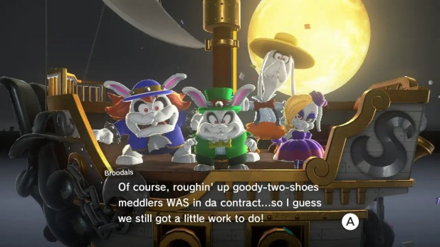 """""""Super Mario Odyssey"""" doesn't waste your time with a bunch of needless backstory."""