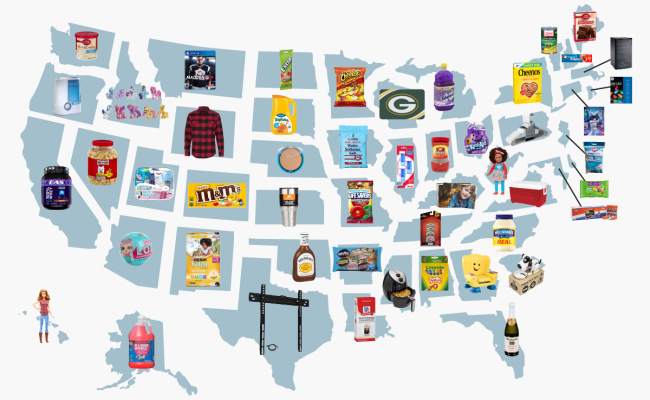 Walmart Reveals The Most Bizarre Top Selling Items In