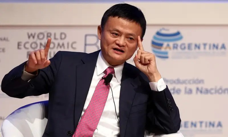 Alibaba Group Executive Chairman Jack Ma speaks during the Business Forum at the 11th World Trade Organization's ministerial conference in Buenos Aires, Argentina December 12, 2017. REUTERS/Marcos Brindicci