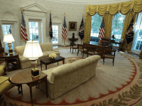 Donald Trump's Oval Office design is inspired by past ...