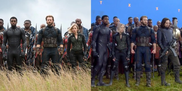 avengers infinity war without vfx
