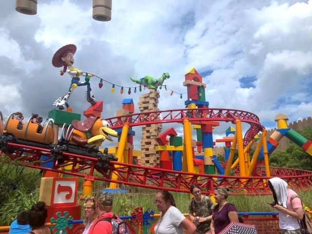 toy story jessie rex Toy Story Land