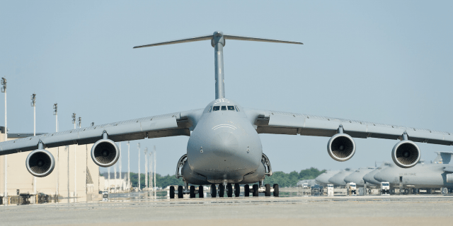 US Air Force C-5M Super Galaxy
