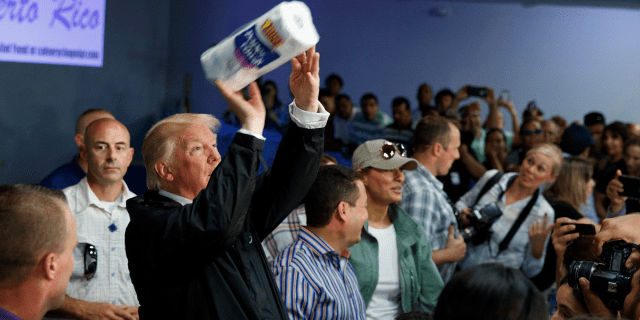 trump paper towels puerto rico