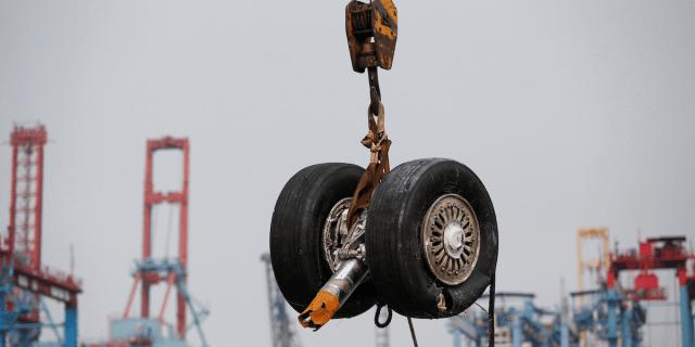 lion air plane wheel