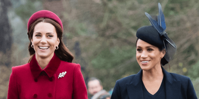 Kate Middleton Meghan Markle Christmas Sandringham Royal Family church