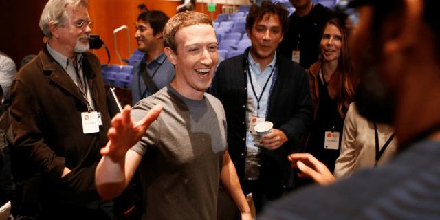 mark zuckerberg happy handshake