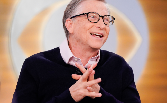 Bill Gates Says He S Happier At Age 63 Than 25 Because Of