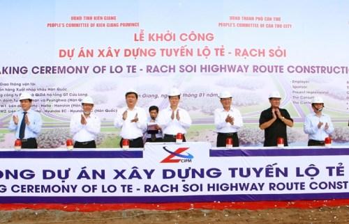 Gần 6.700 tỷ đồng xây dựng đường nối TP.Cần Thơ với Kiên Giang