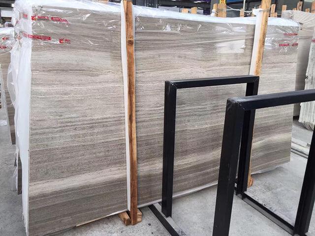 6 mẫu đá marble xám cho nhà hiện đại
