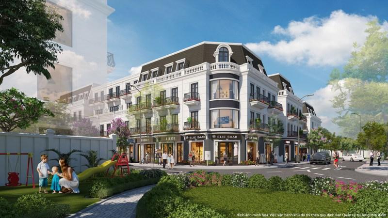 Tổ hợp nhà phố thương mại Vincom Shophouse Thái Hòa